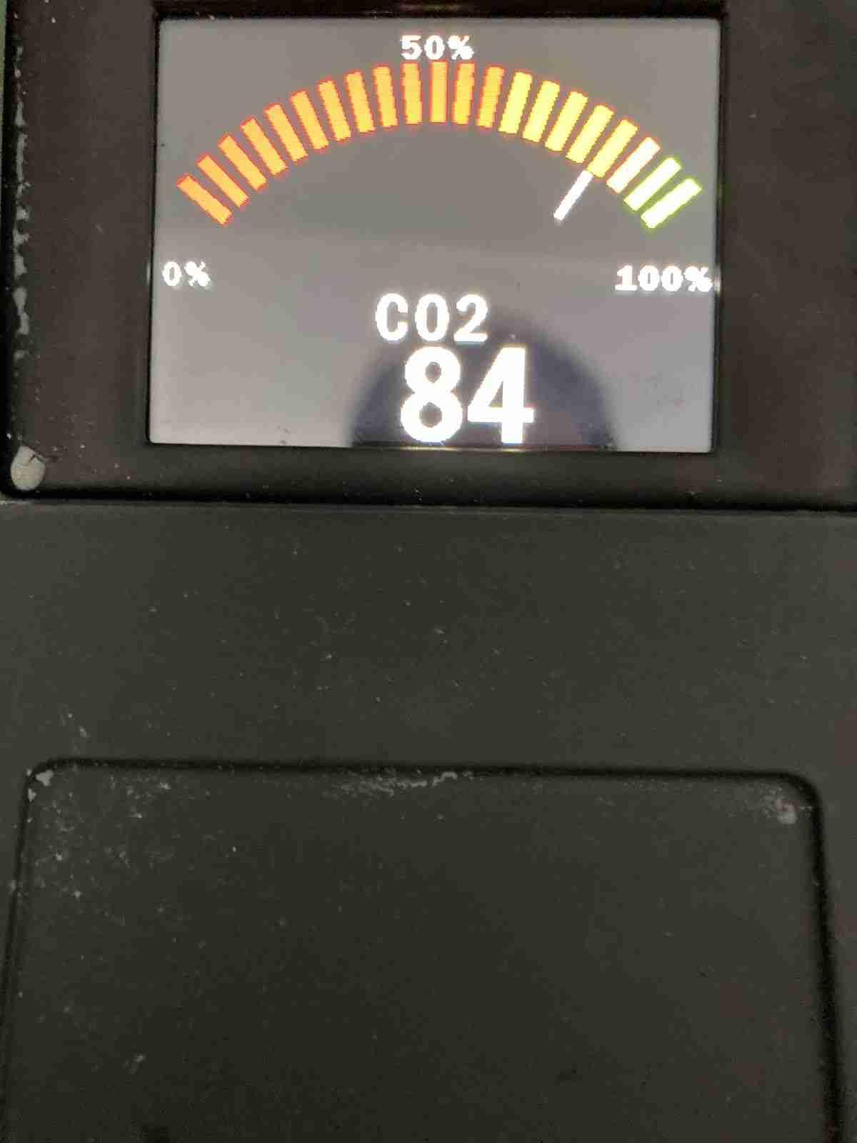 si immette anidride carbonica fino a saturazione