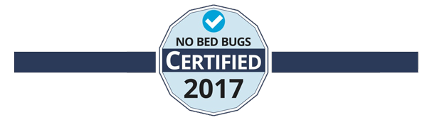 no bed bugs certified
