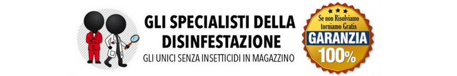 Gli specialisti della Disinfestazione Ecologica