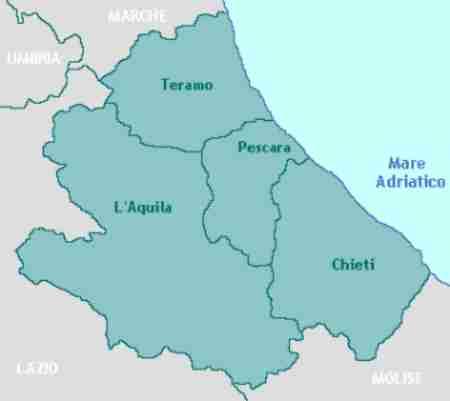 Disinfestazione tarli Abruzzo: lista delle province