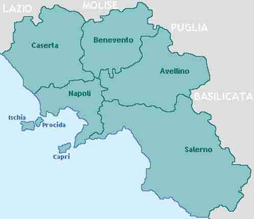 Disinfestazione tarli Campania: lista delle province
