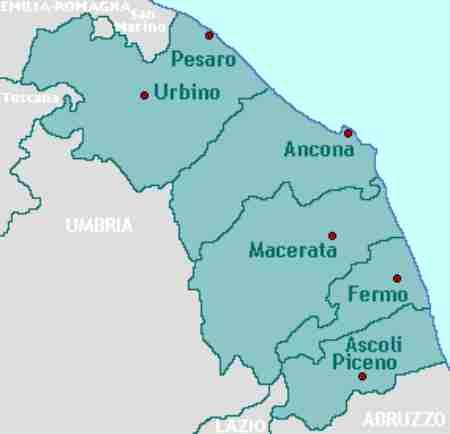 Disinfestazione tarli Marche: lista delle province