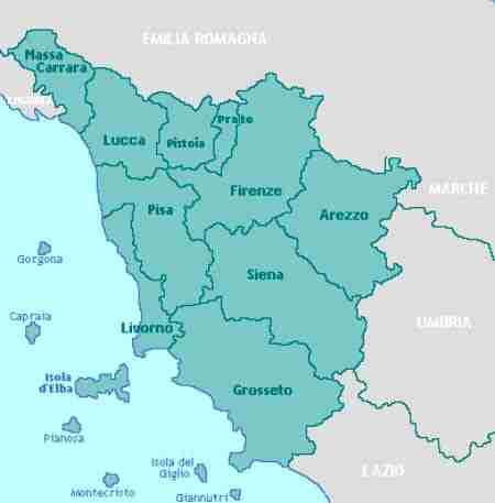 Disinfestazione tarli Toscana: lista delle province